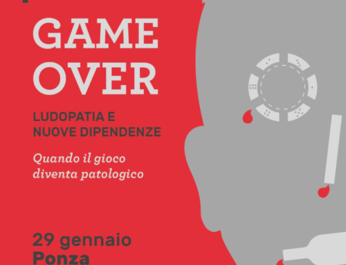 """Il 29 gennaio avrà luogo a Ponza  il seminario """"GAME OVER: quando il gioco diventa patologico. Ludopatia e nuove dipendenze"""", promosso dal Consorzio Intesa, con il patrocinio della Regione Lazio e il Comune di Ponza."""