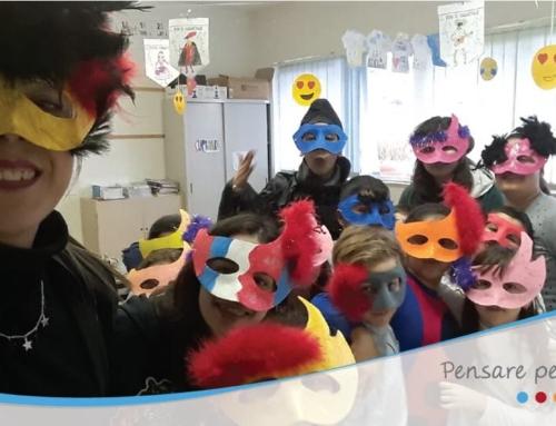 """Il Centro Diurno per Minori di Monte San Biagio, la Casa Famiglia """"Linus"""" e la Comunità Alloggio """"Villa Angelina"""" chiudono la """"carrellata"""" del carnevale del Consorzio Intesa!"""