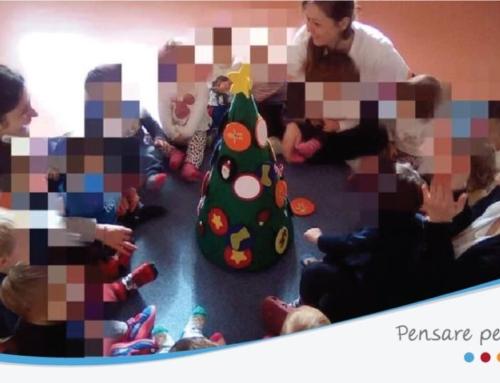 Un albero di Natale a misura di bambino!