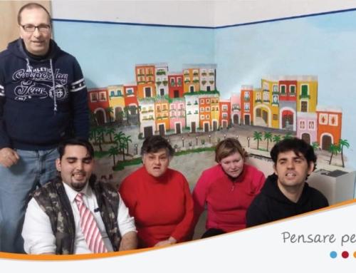 """Il Centro Diurno per Disabili """"Percorsi"""" rende omaggio a Genova."""