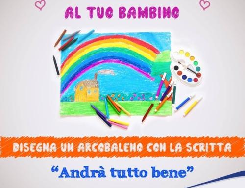 """Gli arcobaleni, tutti bellissimi, tutti unici ed irripetibili dell'iniziativa """"Disegna un arcobaleno"""" dei Servizi per l'infanzia gestiti dal Consorzio Intesa!"""