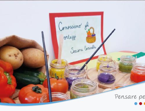 """Asilo Nido """"Le Coccole"""": un ricco programma di attività che inizia dal tema""""Scoprire e sperimentare frutta e verdura"""""""